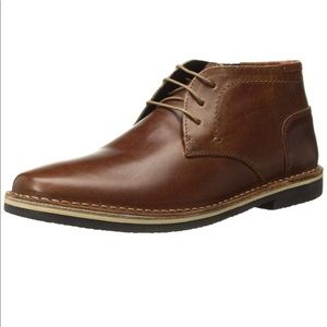 steve madden Men's harken cognac leather